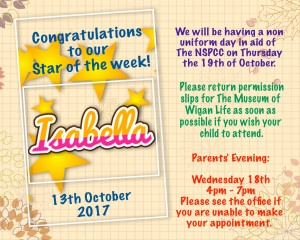 star of the week 13:10